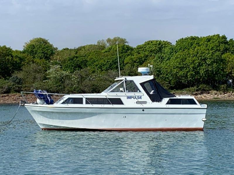 Seamaster 30 boat 1988 diesel