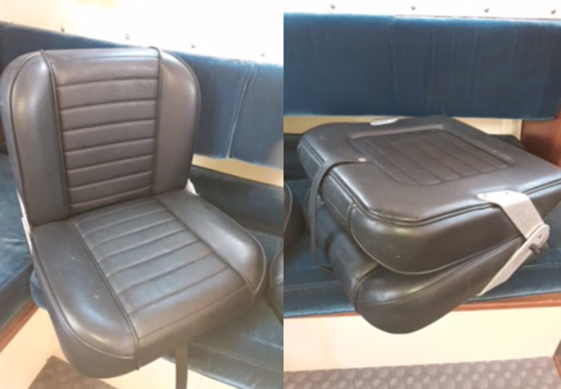 seamaster 820 seats