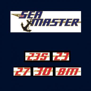seamaster boat logos